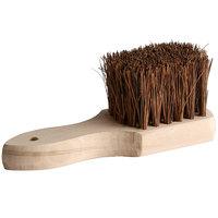 8 inch Palmyra Bristled Wok Brush with Wood Handle