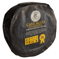 LaClare Family Creamery 22 lb. Cloth-Bound Cave-Aged Chandoka Cheese Wheel