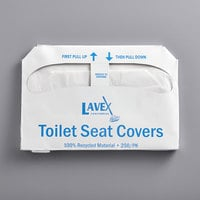 Lavex Janitorial Half Fold Paper Toilet Seat Cover - 5000/Case