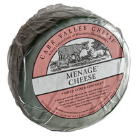 Carr Valley Cheese Company 10 lb. Menage Mixed-Milk Cheese Wheel
