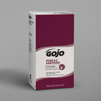 GOJO® 7581-02 TDX E2 5000 mL Dye and Fragrance Free Sanitizing Lotion Hand Soap Refill with PCMX   - 2/Case
