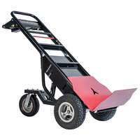 Magliner MHT75AA 1000 lb. Motorized Hand Truck with 13 inch Pneumatic Wheels and Base Plate - 36V, 800W