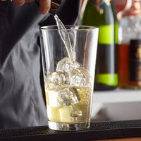 Libbey 5137 Restaurant Basics 20 oz. Customizable Mixing Glass   - 24/Case