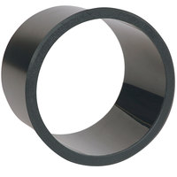 Vollrath TT-1 In-Counter Black Thermoplastic Circular Flush Mount Trash Insert - Cut-Out Dimensions 6 3/4 inch
