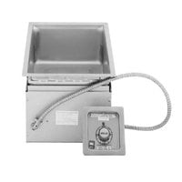 Wells MOD100D 1 Pan Drop-In Hot Food Well with Drain - Infinite Control, 208/240V