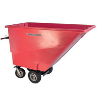 Magliner MHCSAC 1.0 Cubic Yard Motorized Hopper Cart with 13 inch Pneumatic Wheels and Dual Handle Bars (750 lb.)
