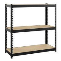 Hirsh Industries 22539 30 inch x 30 inch x 12 inch Three-Shelf Boltless Shelving Unit