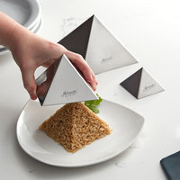 Ateco 3-Piece Stainless Steel Pyramid Mold Set