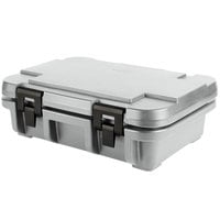 Cambro UPC140191 Camcarrier Ultra Pan Carrier® Granite Gray Top Loading 4 inch Deep Insulated Food Pan Carrier