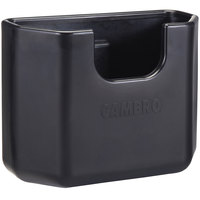 Cambro QCSB110 Service Cart Pro 16 inch x 7 inch x 12 inch Black Small Quick Connect Bin