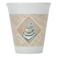 Dart Solo 8X8G 8 oz. Customizable Espresso Foam Cup 1000 / Case