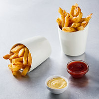 Arcoroc N5986 Gourmand Express 10 oz. Porcelain French Fry Bowl by Arc Cardinal - 24/Case