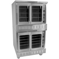 Bakers Pride BPCV-E2 Restaurant Series Bakery Depth Double Deck Full Size Electric Convection Oven - 208V, 3 Phase, 10500W