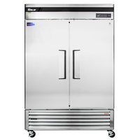 Turbo Air TSR-49SD Super Deluxe 54 inch Solid Door Reach In Refrigerator