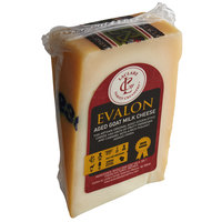 LaClare Family Creamery 6 oz. Evalon Aged Goat Milk Cheese - 12/Case
