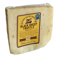 Carr Valley Cheese Company 5 oz. Black Sheep Truffle Cheese - 12/Case