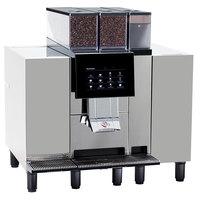Bunn 55300.0003 BW4C CTM P-F-RS Superautomatic Espresso Machine with Four Syrup Flavor Options - 208V, 2750W