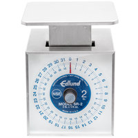 Edlund SR-2 Premier Series 32 oz. Mechanical Portion Scale with 6 inch x 6 3/4 inch Platform