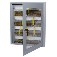 MMF Industries 2019V11001 Steelmaster Uni-Tag Vue 110-Key Cabinet with Viewing Window
