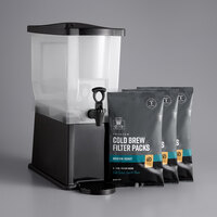 Crown Beverages 3 Gallon Capacity Cold Brew System with Coffee