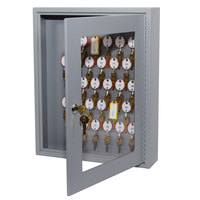 MMF Industries 2018V03001 Steelmaster Dupli-Key Vue 30-Key Cabinet with Viewing Window