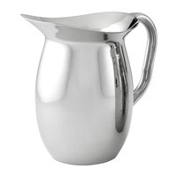 American Metalcraft DWP44 Mirror Finish Double Wall Bell Pitcher - 1.37 Qt.