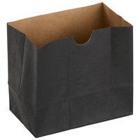 American Metalcraft SBB4 Black 4 1/4 inch x 2 1/2 inch x 3 3/4 inch Mini Snack Bag - 250/Case
