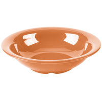 GET B-167-PK Diamond Harvest 16 oz. Pumpkin Melamine Bowl - 24/Case