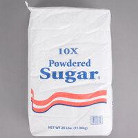 10X Confectioners Sugar - 25 lb.