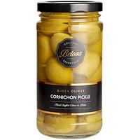 Belosa 12 oz. Cornichon Pickle Stuffed Queen Olives