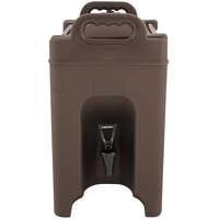 Carlisle XT250001 Cateraide™ XT 2.5 Gallon Brown Insulated Beverage Dispenser