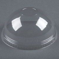 Dart Solo Conex DNR626 Clear PET Dome Lid without Hole - 50 / Pack