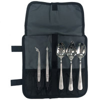 Mercer Culinary M35157CL 6-Piece Stainless Steel Plating Set