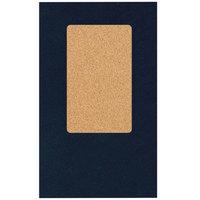 H. Risch, Inc. 5000H-CRCC MON-PKT 5 inch x 9 inch Monticello Blue Check Presenter