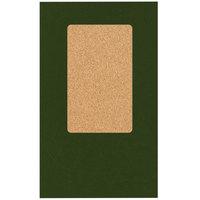 H. Risch, Inc. 5000H-CRCC MON-PKT 5 inch x 9 inch Monticello Green Check Presenter