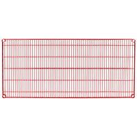 Metro 2454NF Super Erecta Flame Red Wire Shelf - 24 inch x 54 inch