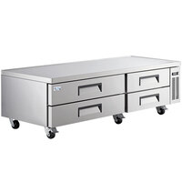 Avantco CBE-84-HC 84 inch 4 Drawer Refrigerated Chef Base