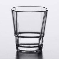 Libbey 92440 Infinium Torque 1.5 oz. Stackable Tritan Plastic Shot Glass - 24/Case