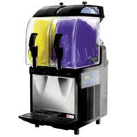 Crathco I-PRO 2E (1206-002) Double 2.9 Gallon Granita / Slushy / Frozen Beverage Machine with Electronic Control - 115V