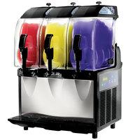 Crathco I-PRO 3E (1206-006) Triple 2.9 Gallon Granita / Slushy / Frozen Beverage Machine with Electronic Control - 115V
