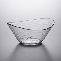 Libbey 92389 Infinium Wake 100 oz. Tritan Plastic Stackable Oval Bowl - 6/Case