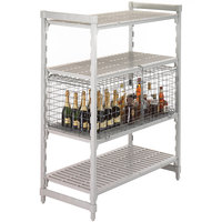 Cambro Camshelving CSSC244818000 Single Shelf Security Cage