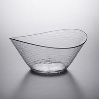 Libbey 92390 Infinium Wake 150 oz. Tritan Plastic Stackable Oval Bowl - 6/Case