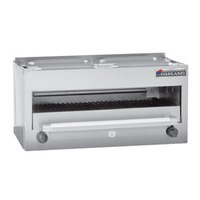 Garland MSRC Master Series Natural Gas 34 inch Countertop Infra-Red Salamander Broiler - 28,000 BTU