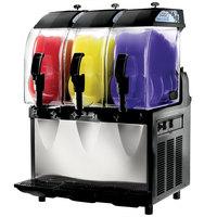 Crathco I-PRO 3M (1206-004) Triple 2.9 Gallon Granita / Slushy / Frozen Beverage Machine with Manual Control - 115V