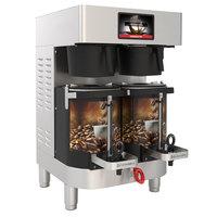 Grindmaster PBC-2W (1004-004) PrecisionBrew 1.5 Gallon Twin Automatic Shuttle Coffee Brewer for Warmer Shuttles - 240V