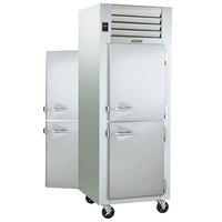 Traulsen G10002P 1 Section Solid Half Door Pass-Through Refrigerator - Right / Right Hinged Doors