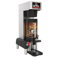 Grindmaster PBC-1VS (1004-007) PrecisionBrew 1.5 Gallon Single Automatic Shuttle Coffee Brewer for Vacuum Shuttles with Stand - 240V