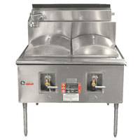 Town CF-1-P Natural Gas One Compartment Cheung Fun Noodle Range - 49,000 BTU