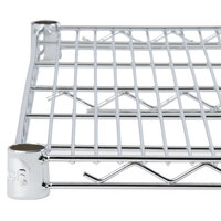Regency 14 inch x 72 inch NSF Chrome Wire Shelf